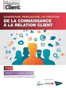 Affiche Relation client